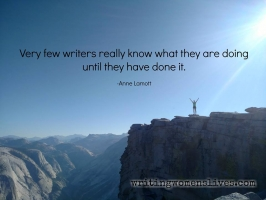 <h5>Very few writers really know what they are doing until they have done it. —Anne Lamott</h5><p>WritingWomensLives.com #writingclass #womenswriting #womensmemoir																																																																																																																																																																																																																																																																																																																																																																																																																																																																																																																														</p>