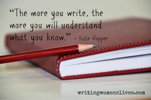 <h5>The more you write, the more you will understand what you know.</h5><p>																																																																																																																							WritingWomensLives.com #writingclass #womenswriting #womensmemoir																																																																																																																																																																																																																																																																																																																																																																																																																																																																																																																														</p>