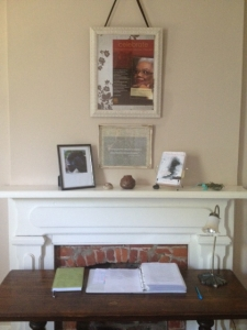 sacred writing space